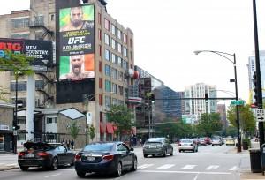#610 UFC Distant wallscape - Chicago