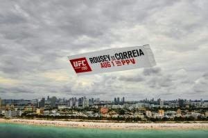 Aerial Banner UFC190- Miami